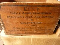 eley small arms ammo box