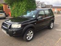 2004 Land Rover Freelander 5 door manual low miles and 1 years MOT.