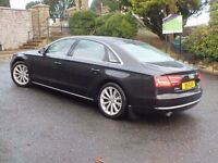 New model 2011 Audi A8 3.0 tdi SE Executive Quattro LWB ,trade in considered,credit cards accepted.