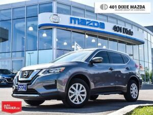 2017 Nissan Rogue S, ONE OWNER, NO ACCIDENTS, REAR-VIEW CAM