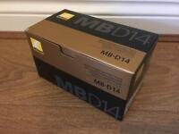 Nikon MB-D14 Battery Grip - Brand New/Boxed
