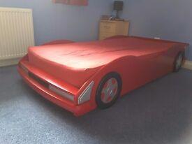 Boys cool single Car Bed