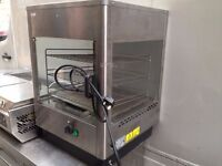 CATERING COMMERCIAL HOT FOOD CABINET CAFE BAR TAKE AWAY PIZZA KEBAB CHICKEN SHOP KITCHEN
