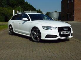 2014 (14 Reg) Audi A6 Avant 2.0 TDI Ultra S-Tronic Auto Black Edition