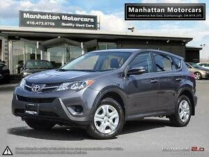2015 TOYOTA RAV4 LE AWD - POWER.GROUP|FACTORY WARRANTY|ALLOYS