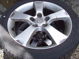 Mazda 3 Sport Alloys 205/50ZR17