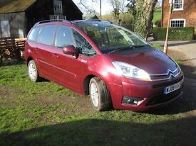 CITROEN C4 GRAND PICASSO VTR+ HDI 7 SEATER 1.6HDI DIESEL 2008 AUTOMATIC 2 OWNERS SERVICE HISTORY