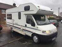 Fiat Ducato swift Royale 4/5 berth Motorhome