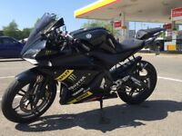 Yamaha YZF R125 w/Lots of Extras!