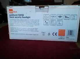 PIR security light