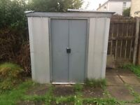 Metal Shed in Knightswood