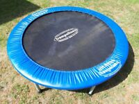 3ft trampoline hardly used.