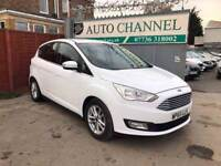 Ford C-Max 1.5 TDCi Zetec 5dr (start/stop)£8,695 p/x welcome 1 YEAR FREE WARRANTY.