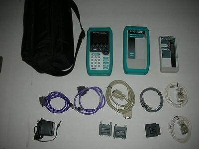 Fluke Microtest Pentascanner 350 Cable Certifier Kit 2 Way Super Injector Mod 8