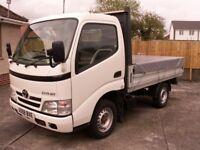 2008 Toyota Dyna 300 D-4D SWB aluminium dropside truck 3.0TD 2 owners NO VAT