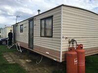 PRIVATE SALE STATIC CARAVAN HOLIDAY HOME / NR BRIDLINGTON / EAST COAST / YORKSHIRE / BEACH ACCESS