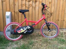 """BTWIN Decathlon Boys Bike - 16"""" wheels"""