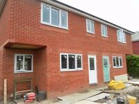 Brand new 2 bed semidetached house, garden to rear, off road parking, Viewing highly recommended.