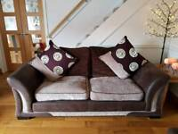 FREE Two and three seater sofas including footstool