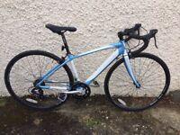 47cm WOMEN'S ROAD BIKE Claud Butler Sabina R3 14-speed Sti Alloy
