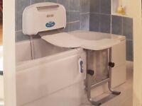 Aqua lift bathroom aide