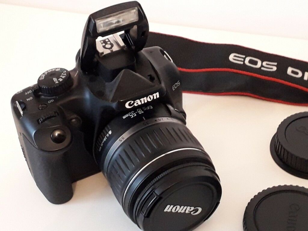 Canon Digital Camera EOS 1000D Zoom Lens EF-S18-55mm f/3 5