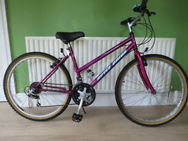 "LADIES BIKE. 26"" WHEELS,ROYCE UNION ROYAL MT"". GREAT CONDITION,FULLY WORKING,READY TO RIDE."