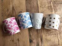 Mugs / Cups set of 4