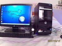 WiNDOWS 7 HP DESKTOP PC