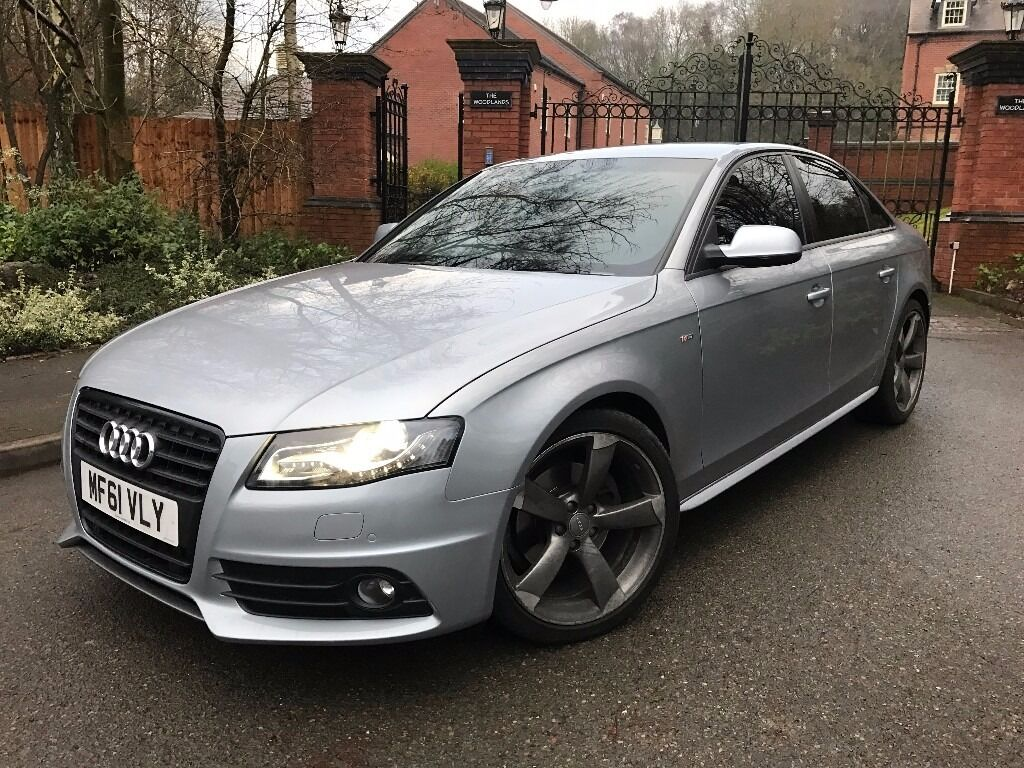 audi a4 s line black edition 2 0 tdi 140 6 speed manual diesel 2011 b8 in hadley shropshire. Black Bedroom Furniture Sets. Home Design Ideas