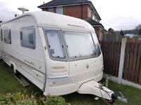 1999 YEAR CARAVAN AVONDALE HARRIER 4/5 BERTH WITH 2 AWNINGS AND FULL EQUIPMENT