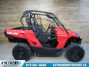 2017 Can-Am Commander 800 34$/SEMAINE