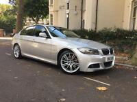 BMW 325d m sport saloon, leather, prof sat nav, FBMWSH