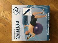 Swiss ball (birthing ball)