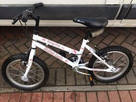 Childs Girls bike great condition