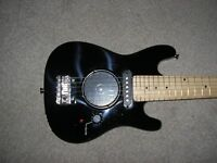 """Kids CB SKY REAL 30"""" guitar with speaker/amp built in. Safe battery operation for young child"""