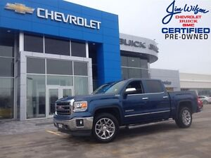 2015 GMC Sierra 1500 SLT V8 4X4 ROOF NAV CHROMES LOADED!!!