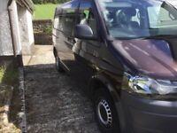 Volkswagen transporter 9 seater minibus 2013