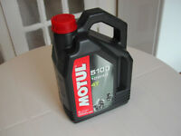 Motul 5100 10W40 Semi-Synthetic Motorcycle Oil - 4 litre