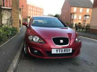 Seat Leon 2011 Low Mileage 50k 1.2 Bluetooth Fully Ideal First Car bargain Cheap