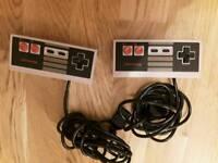 3x NES nintendo controllers