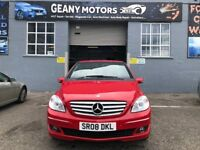 *3 MTH WARRANTY* 08 AUTOMATIC MERCEDES B 150 SE-CVT, 50K MILEASE WITH FSH, MOT APRIL 2019, ONE OWNER