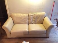 Marks and Spencer Cream Sofa bed