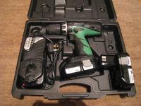 Hitachi 18 Volt Combi Drill