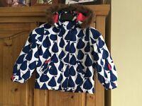 Boden ski jacket/coat size 5-6