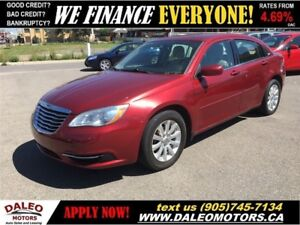 2011 Chrysler 200 LX | HEATED MIRRORS | TRANS W/DUAL SHIFT MODE