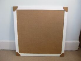 Large white picture frame