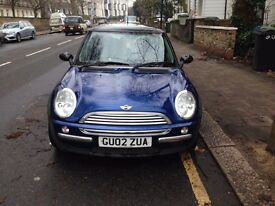 Lovely 2002 Mini Cooper for sale - great condition, low milage