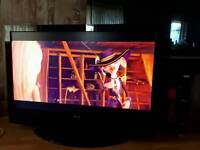 50 inch HD tv freeview built in