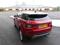 Land Rover Range Rover Evoque TD4 SE TECH (red) 2017-01-24